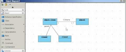 Object and Package Diagrams