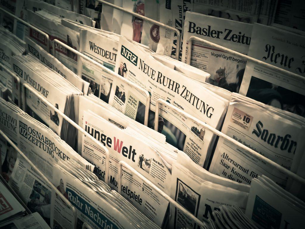 News Software Architecture UML